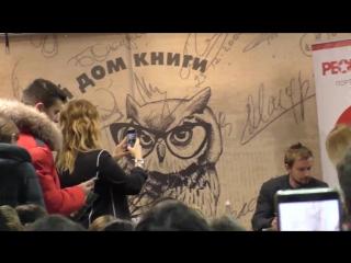 актёр Саша Петров и Татьяна Пивкина, а так же Софья Пивкина. 2018 г.