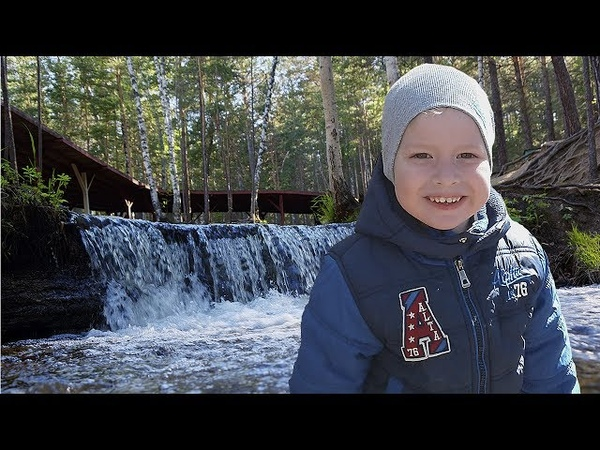 VLOG.Иманаевский водопад.Ворота в сказку.Imanaevsky waterfall. The gate to the fairy tale.
