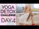 Day 4 - Deep Hip Opening into Mermaid King Pigeon - Yoga Detox Challenge (30 Min)
