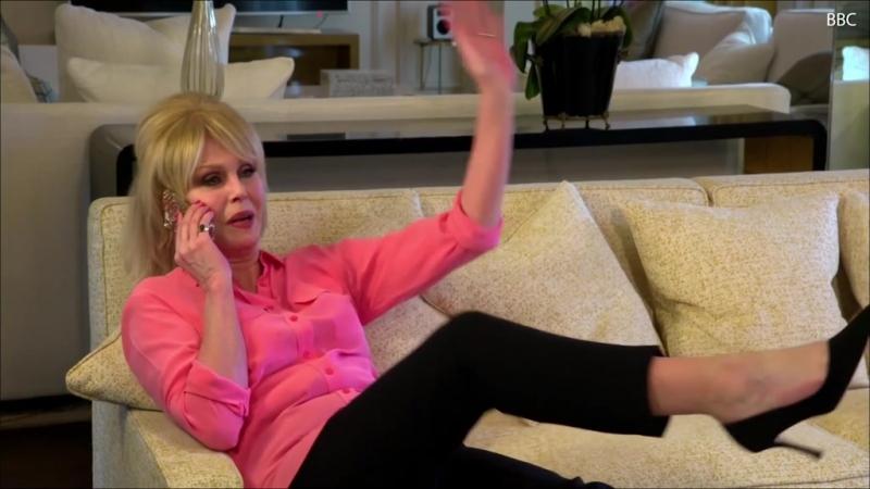 Joanna Lumley leaves BAFTAs audience in hysterics