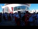 Международный хоровод на Площади Тысячелетия в дни ЧМ - 2018 в Саранске