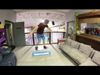 Snowboard Addiction  Buttering (Goofy) - How To Front Blunt 270 Out Goofy