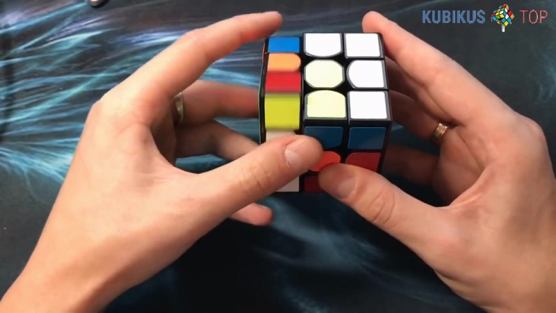Как собрать узор - куб в кубе на кубике рубика 3х3
