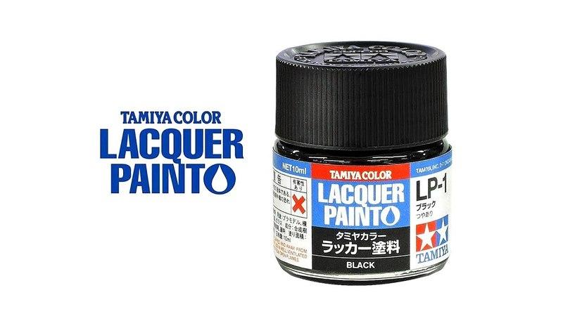 Новая линейка красок Tamiya Laquer Paint