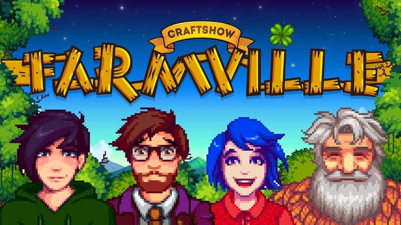 Фармвиль 16: Собирайурожай 3000 (Stardew Valley мультиплеер)