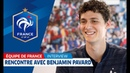 Equipe de France : Rencontre avec... Benjamin Pavard I FFF 2018