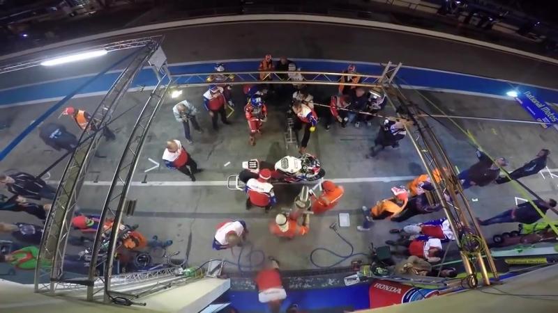 Honda Endurance Racing 2015 Bol dOr Night Pitstop