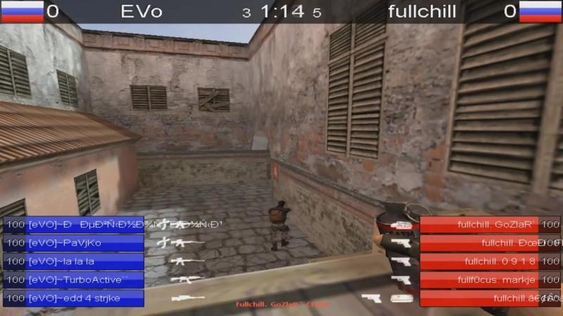 Evo vs fullchill de_mirage match 3place