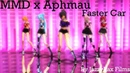 MMD x Aphmau Faster Car My Entry For Rsainbow's Contest