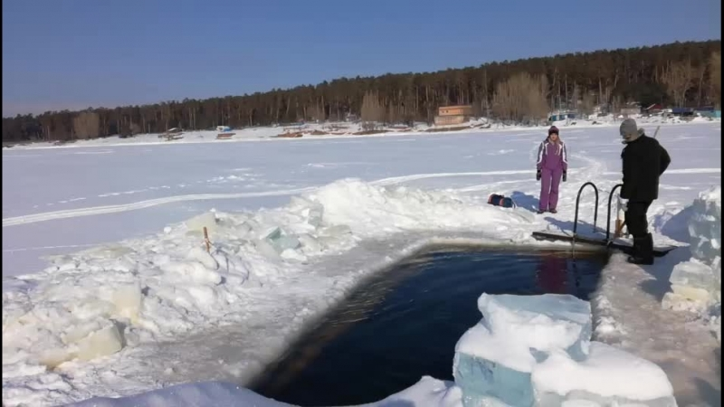 Зимний пляж Тольятти
