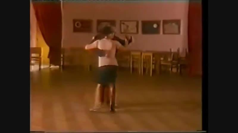 [Asi se baila milonga] - Pepito Avellaneda - Clase 9 Caida sobre la mujer