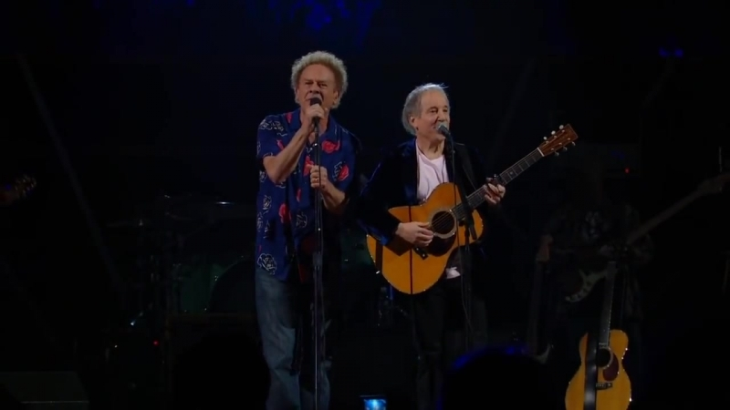 Simon Garfunkel - The Sound of Silence - Madison Square Garden, 2009