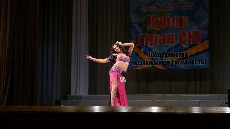 Яновская Дарья Школа восточного танца Бисер