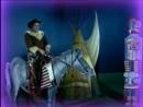 Ρένα Βλαχοπούλου ως ερυθρόδερμη Λάμπρος Κωνσταντάρας ως καουμπόι