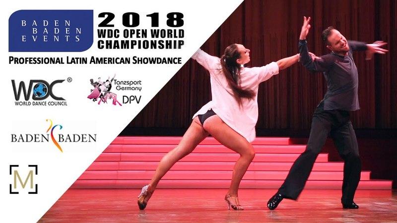 Schabon - Schoenmakers, BEL   2018 WDC Pro WCH SD LAT - Baden Baden, GER - R1