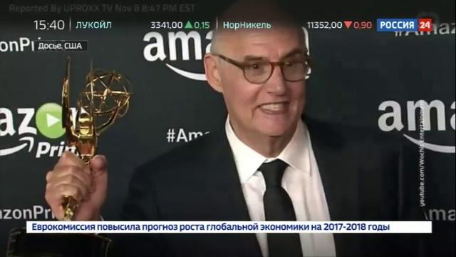 Новости на Россия 24 • Ни дня без секс-скандала: Голливуд тонет в заявлениях о домогательствах