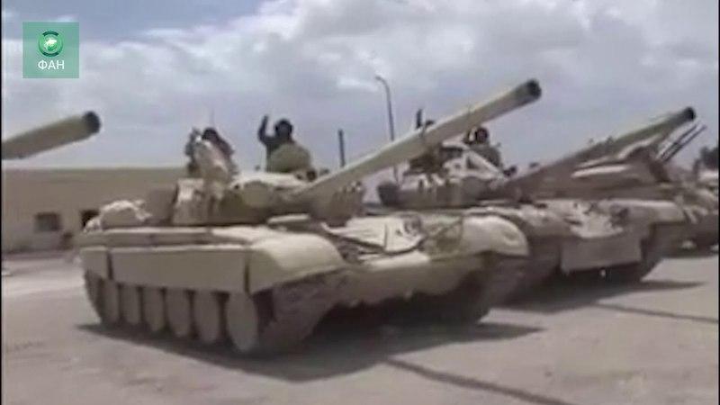 Сирия освободила Восточный Каламун: корреспондент ФАН запечатлел танки, оставленные боевиками