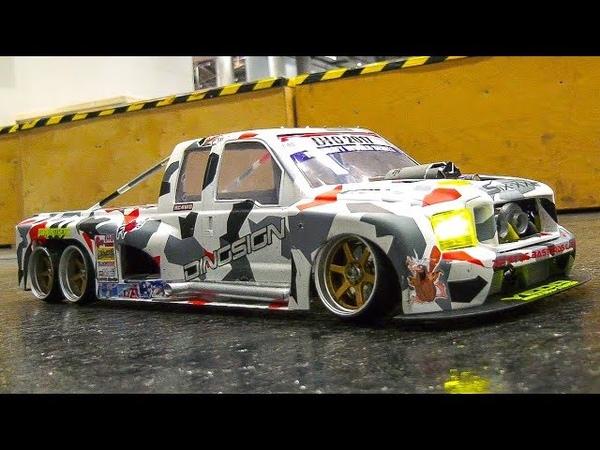 STUNNING RC DRIFT CAR ACTION!! *RC DRIFT RACE TRUCK FORD, RC SCALE DRIFT CARS