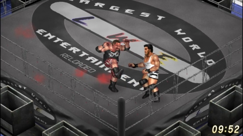Bubba Ray Dudley VS Jeff Cobb. Barbed Wire Deathmatch