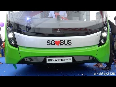 Singapore Lush Green Concept Buses - Unveiling