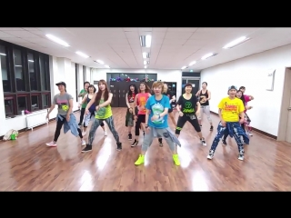 Great parada (trinidad and tobago carnival soca) zumba korea tv