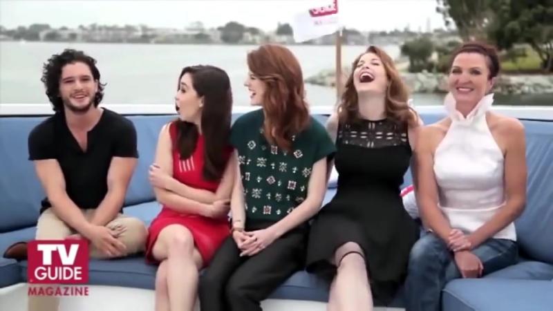 Актеры сериала Игра Престолов за кадром. Веселье и дурачества