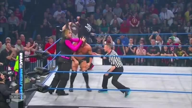 TNA Impact Wrestling 22 12 201 Jeff Hardy Sting Vs Bobby Roode Bully Ray Impact Wrestling