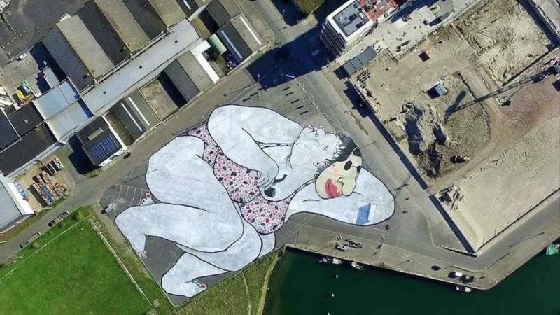 By Street artists Ella Pitr