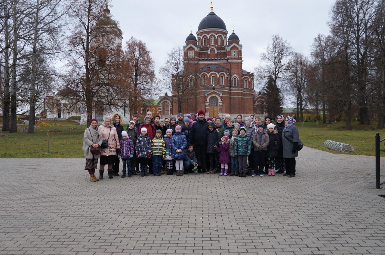 Поездка Воскресной школы в Спасо-Бородинский монастырь