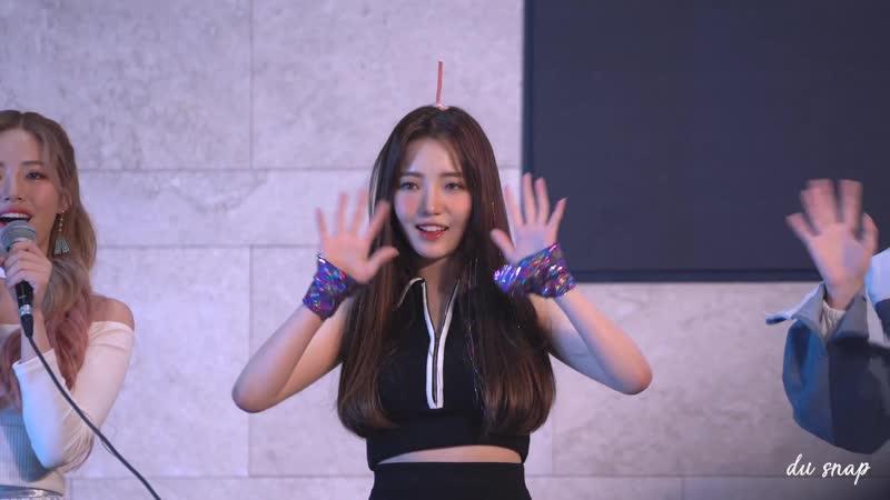 [4K] 181021 프로미스나인 러브밤 팬싸인회 노지선 직캠 _ fromis_9 Roh ji sun moments Fancam @Love bomb Fan signing day