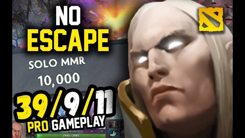 This is How a 10k MMR Plays Invoker , MidOne
