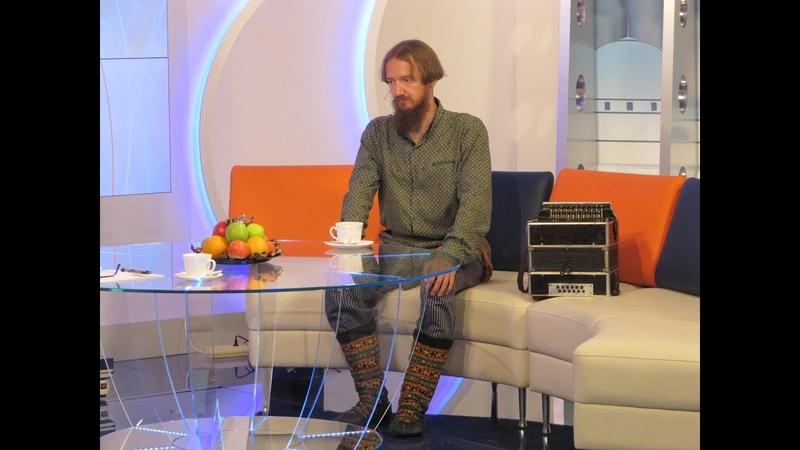 Александр Маточкин в телепередаче Доброе утро, Поморье!