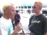 Интервью с The Prodigy в аэропорту Сиднея перед выступлением на фестивале Big Da