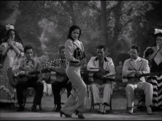 "Carmen Amaya in the 1944 film, ""Follow the Boys."" Today would have been her 100th birthday."