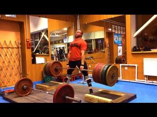 Становая тяга 350 кг5 с высоты 6 см  года