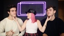 Can A Blind Person Tell Identical Twins Apart? Dolan Twins ft Molly Burke