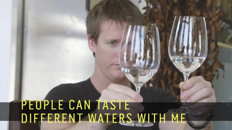 Water Sommelier - Martin Riese -- 60 Second Docs