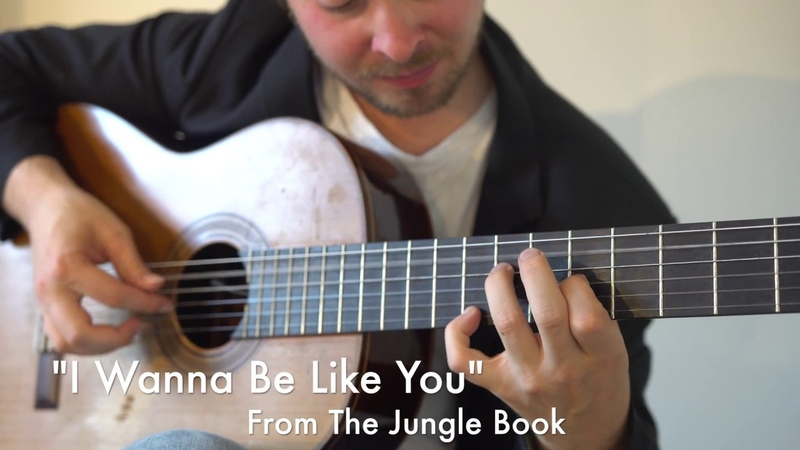 I Wanna Be Like You (The Jungle Book) Fingerstyle Guitar