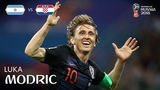 Luka MODRIC Goal - Argentina v Croatia - MATCH 23