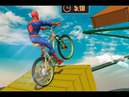 Игра Супергерои на BMX в Космосе 2
