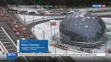 Новости на Россия 24 Снегопад задержал в столичных аэропортах более 60 рейсов