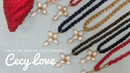CRUZ DE PERLAS CULTIVADAS!! con Cecy Love Bisutería