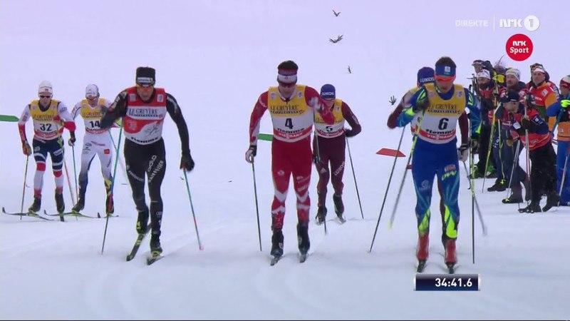 Men's 15 km mass start [C] - Highlights - Val Di Fiemme - Tour De Ski 2018 - Stage 5