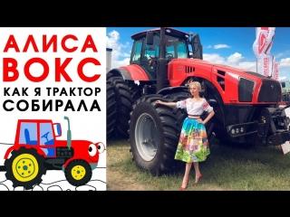 Алиса Вокс: Как я трактор собирала
