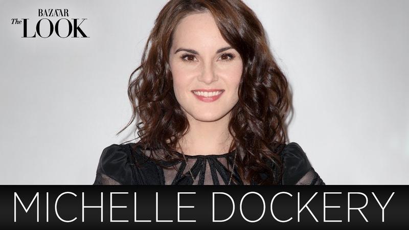 Downton Abbey's Michelle Dockery Talks Fashion | Harper's Bazaar The LOOK