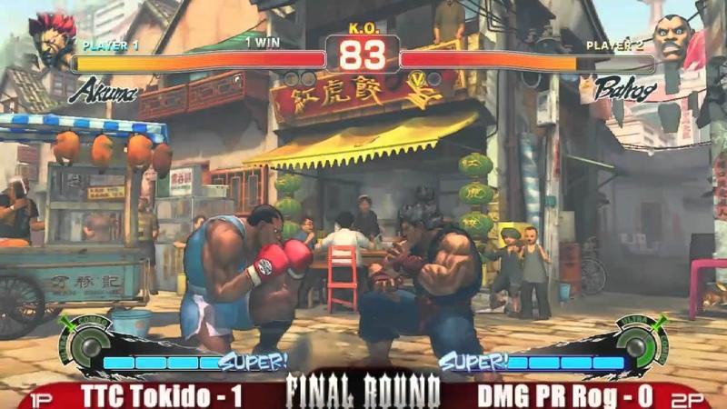 TTC Murderface vs DMG PR Rog GRAND FINALS FRXIV Super Street Fighter 4 Top 16