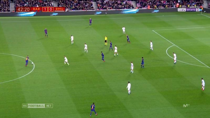 Кубок Испании 2017-18 / 1/16 финала / Ответный матч / Барселона - Мурсия [720, HD]