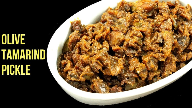 জলপাই ও তেঁতুলের টক, ঝাল, মিষ্টি আচার | Jolpai Tetuler Achar | Olive Tamarind Pic