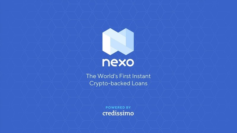 Nexo - The World's First Instant Crypto-backed Loans
