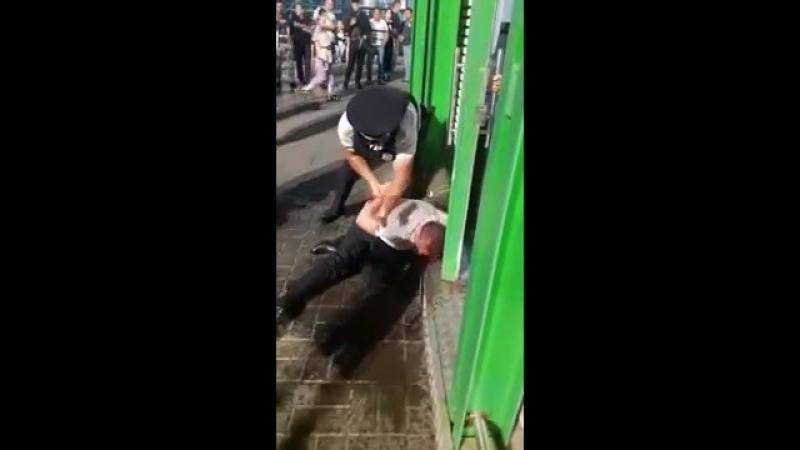 Произвол россиянской полиции